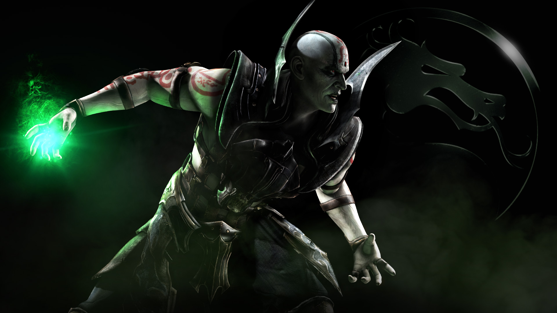 Check out Quan Chi's moves from Mortal Kombat X!