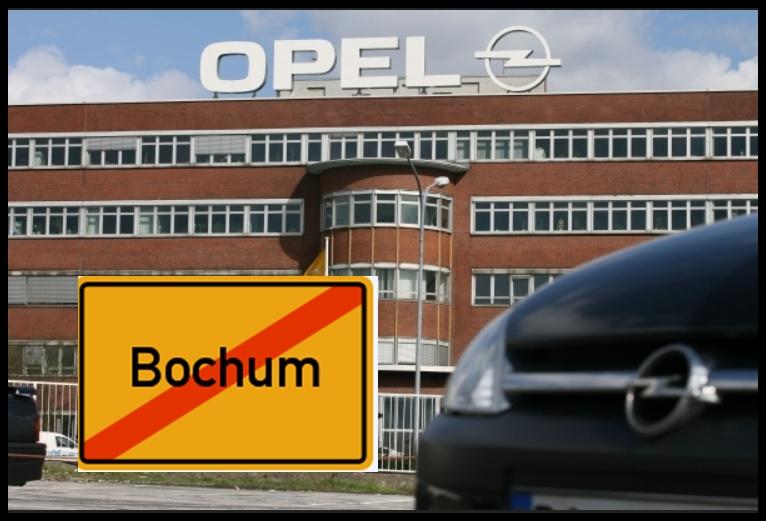 Letzte Schicht für Opel Werk Bochum