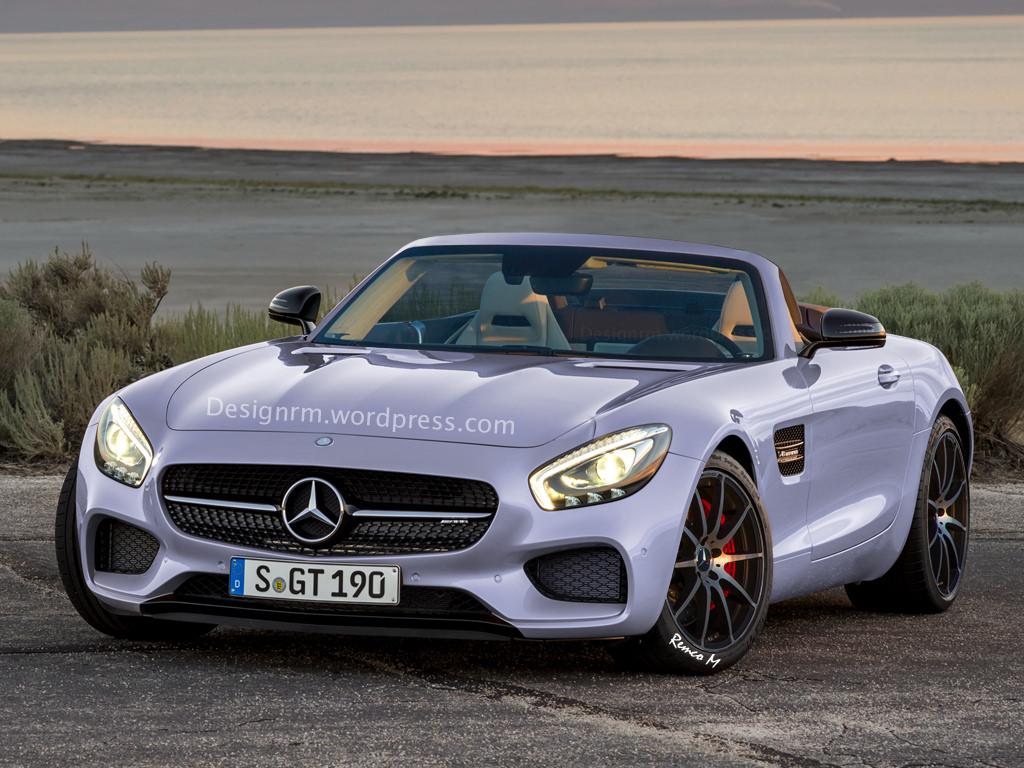 Roadster, Mercedes-AMG GT Roadster, Rendering