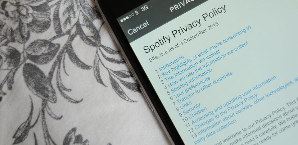 Spotify updates its controversial privacy policy