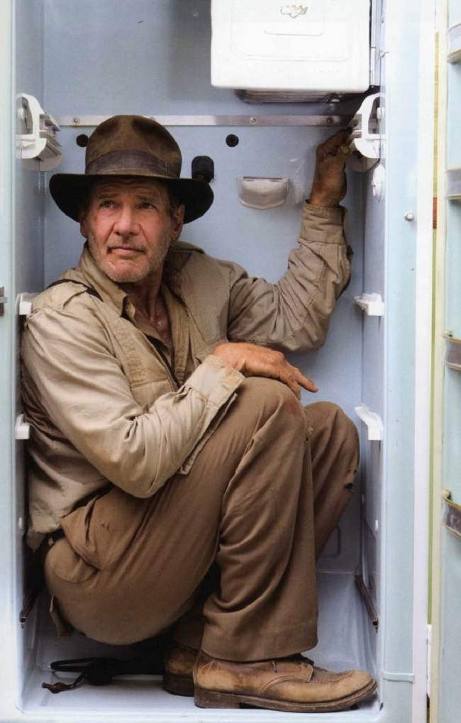indiana jones fridge pose photoshop battle