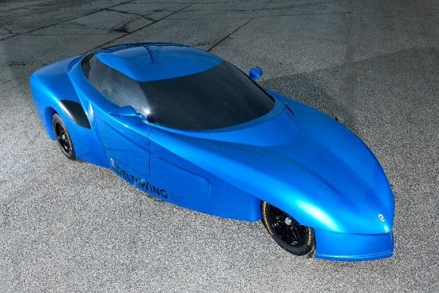 デルタウイング、実車のコンセプト・モデルを初公開!