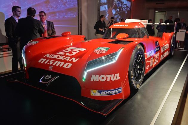 【シカゴオートショー2015】日産、ル・マンに参戦する前輪駆動レースカー「GT-R LM NISMO」を出展!