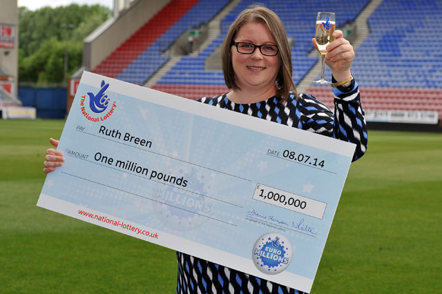 Euromillions winner vows to keep working as a midwife