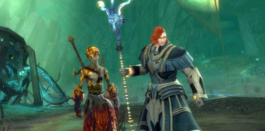 I think we can all agree that the Norn fellow on the right is quite striking and will hopefully show up in a variety of future promotional materials.