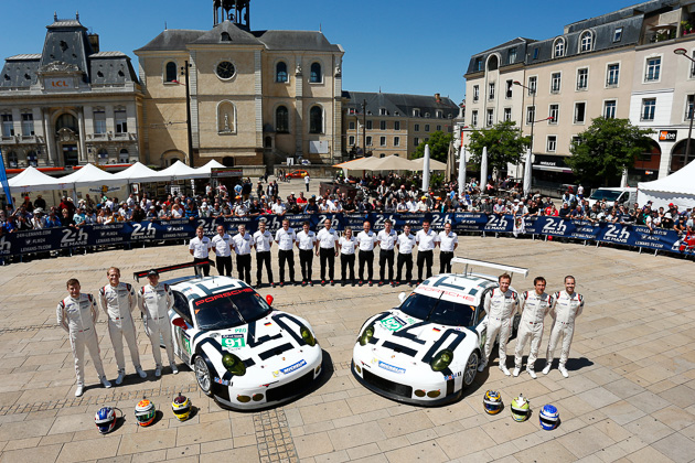 Porsche Team Manthey, Le Mans 2015
