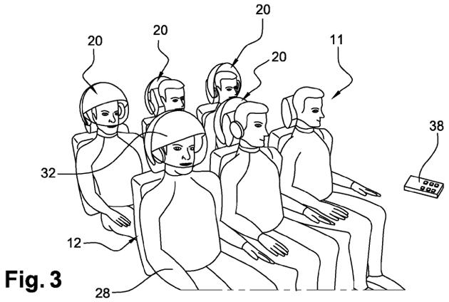 Airbus 申請了一個 VR 頭盔專利,可讓用戶自我隔離