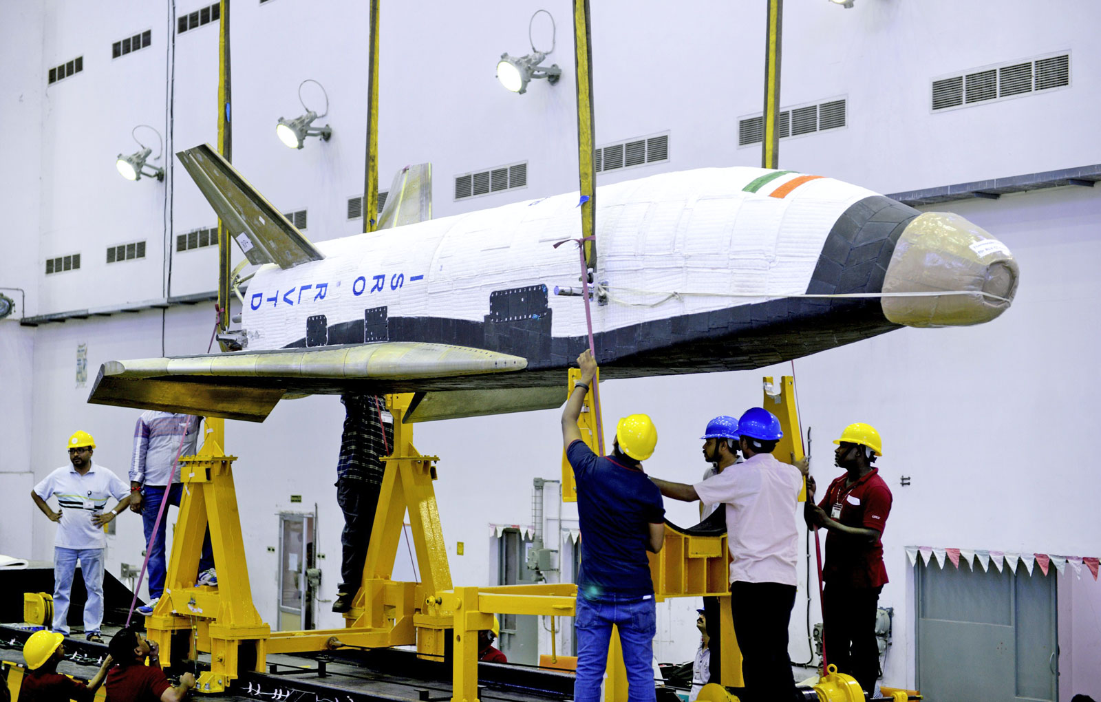 india reusable space shuttle