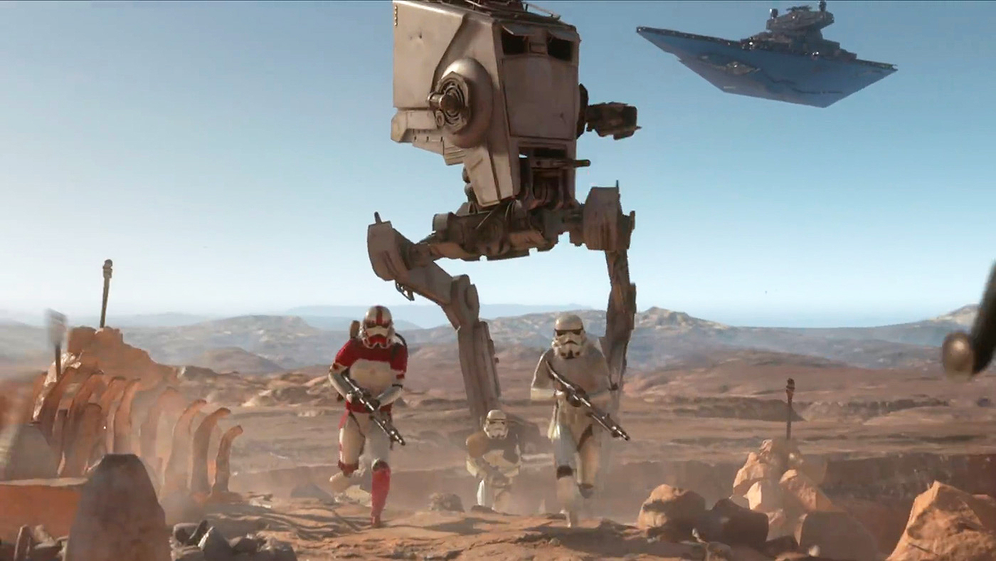 'Star Wars Battlefront' adds a retro film grain option