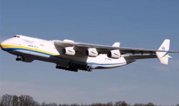 旧ソ連が開発し今なお健在!幻の巨大運搬機An-225ムリーヤがカッコよすぎる【動画】