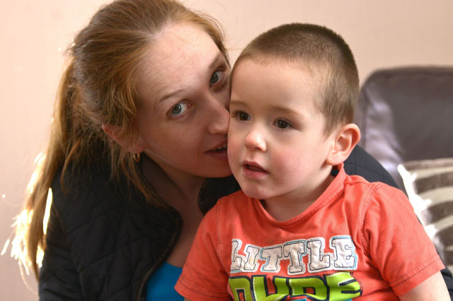 Deaf toddler couldn't hear his mum sing 'Happy birthday' after thieves stole hearing aid