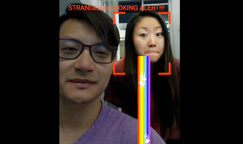 Augen im Hinterkopf: AI warnt vor Smartphone-Kiebitzern
