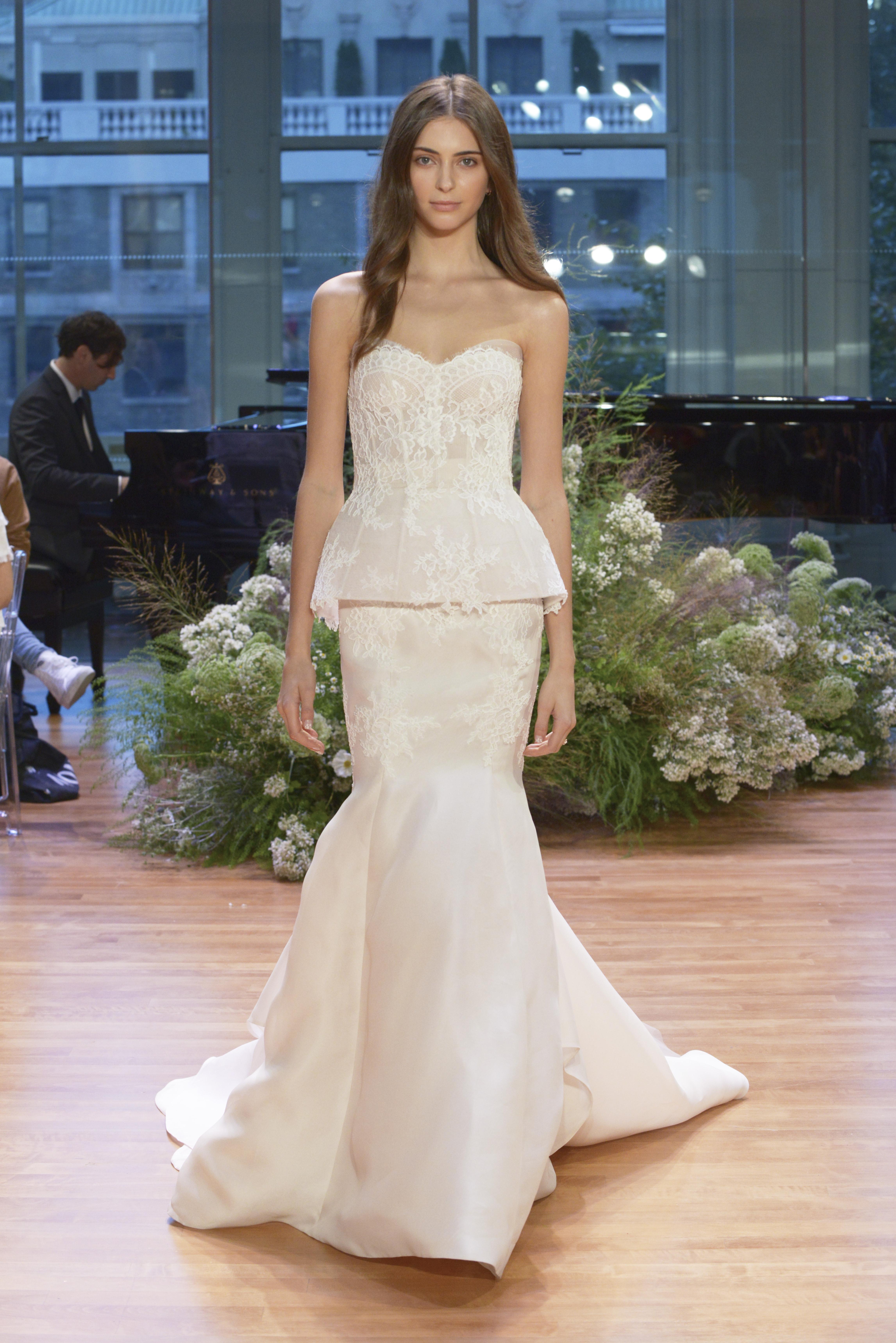 Monique Lhuillier fall 2017 bridal