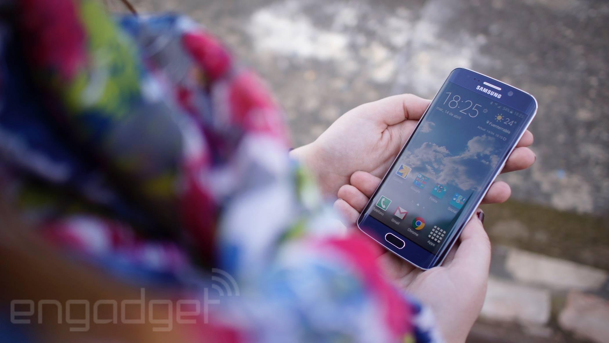 Samsung Galaxy S6 Edge, análisis: el futuro era curvado
