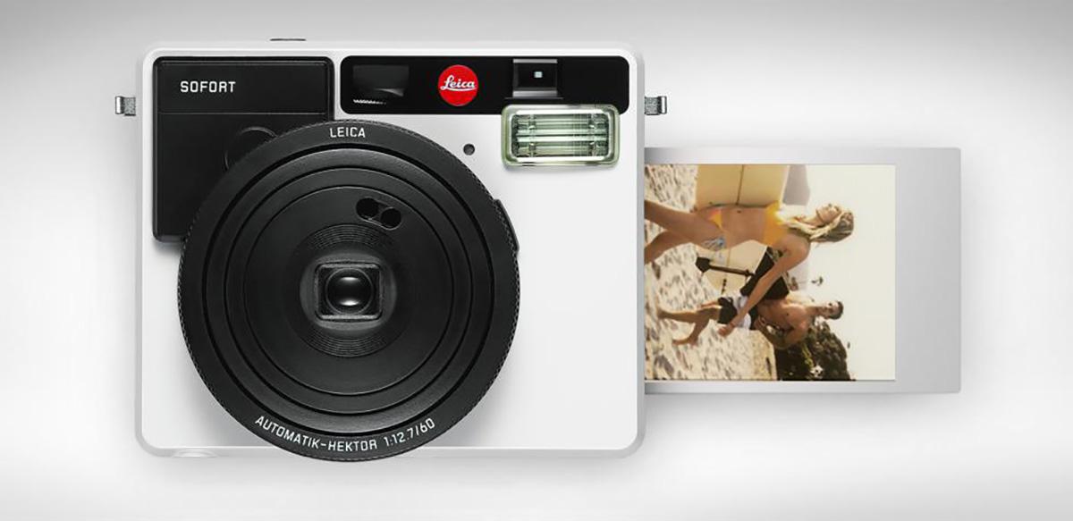 Leica nos da la sorpresa con Sofort, una cámara instantánea de aire retro