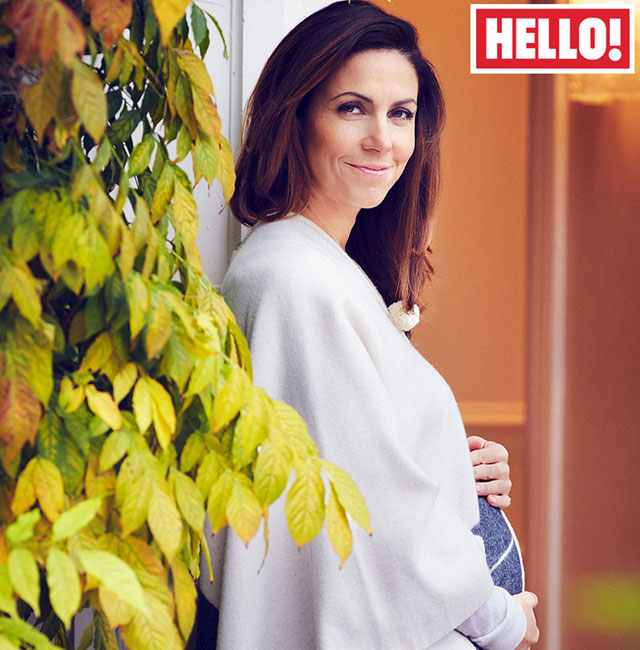 Julia Bradbury is pregnant with twins