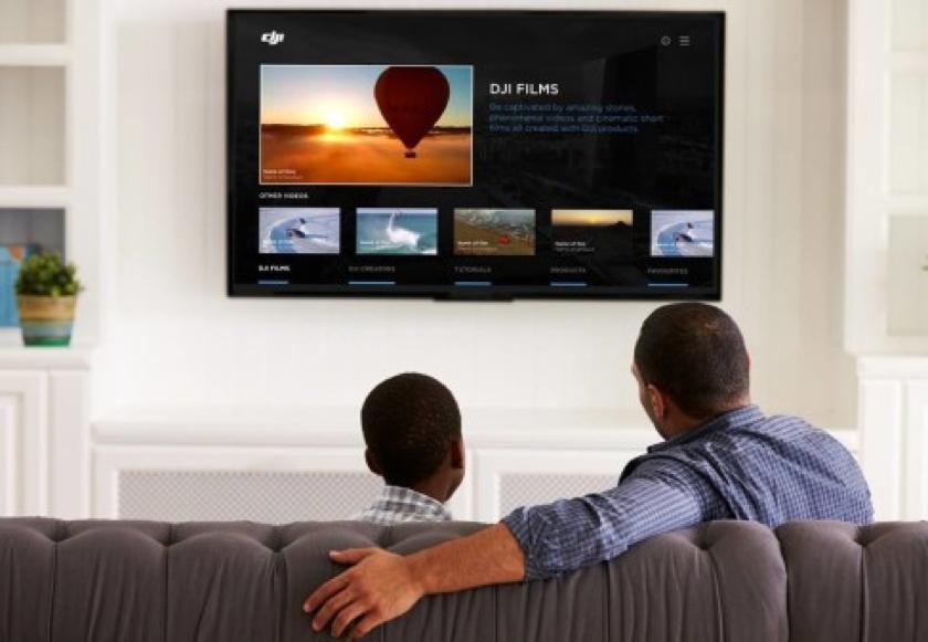 DJI baut App für Smart TVs