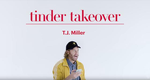 Tinder-Takeover: Wie Komiker T.J. Miller das Leben anderer ruiniert