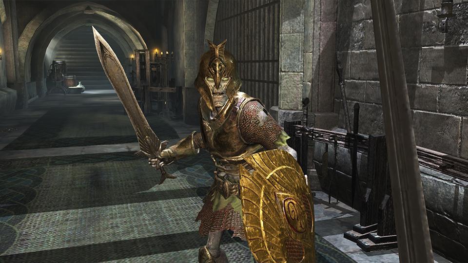 photo image 'Elder Scrolls' on mobile isn't great