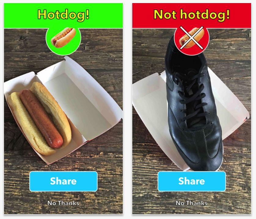 Not Hotdog: Ist das ein Hotdog oder nicht?