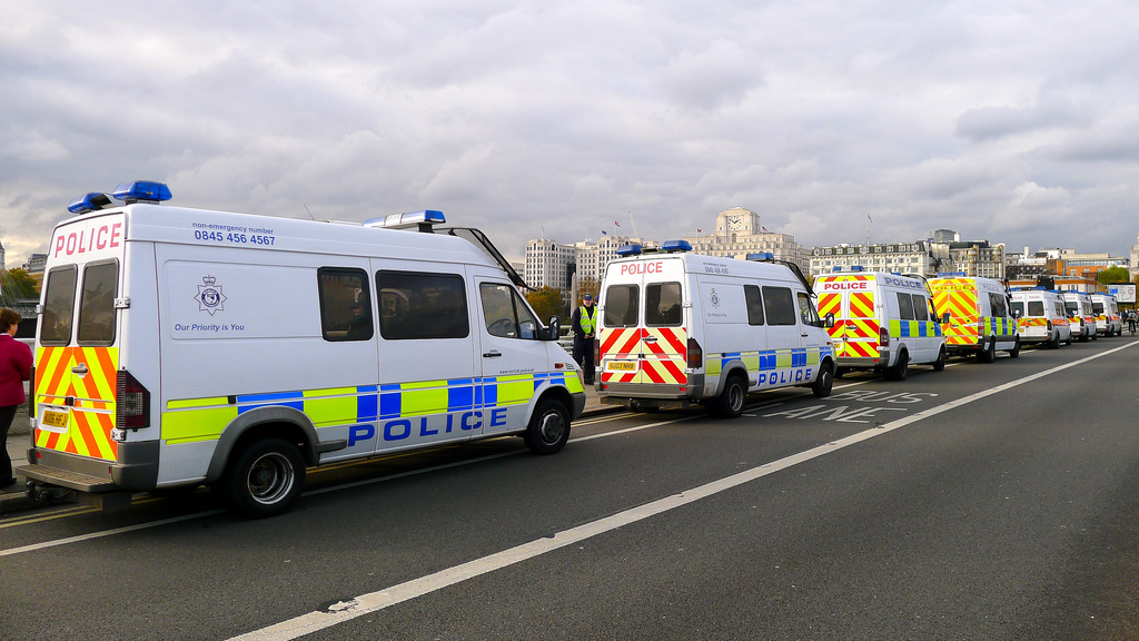 London's police vans are getting fitted with CCTV