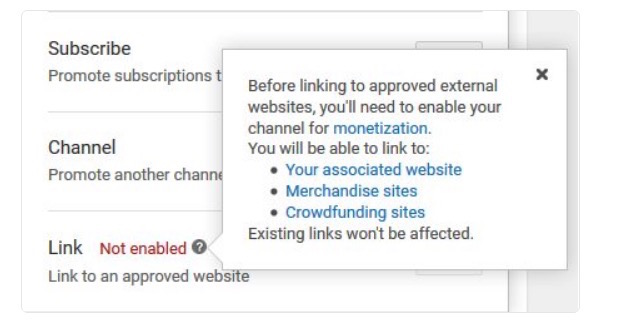 Nur für Werbepartner: YouTube beschränkt Verlinkung in Videos