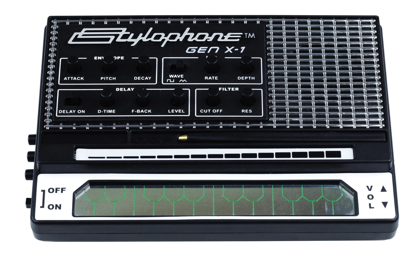 photo image The updated Stylophone Gen X-1 synth comes to the US