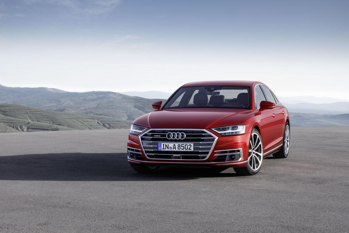 Oberklasse: Audi präsentiert den neuen A8