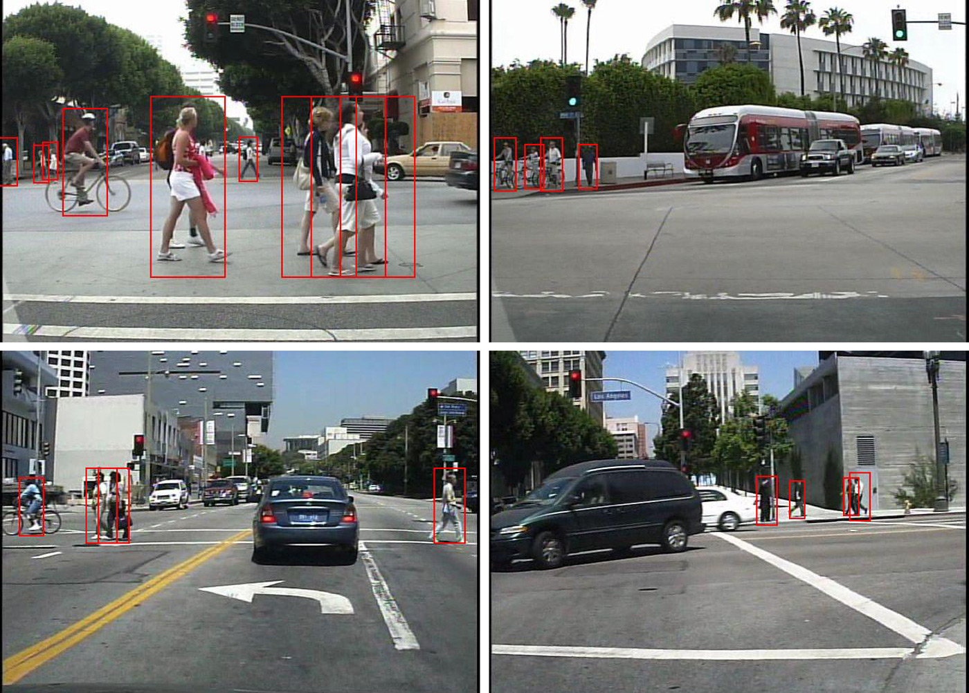 Smart car algorithm sees pedestrians as well as you can