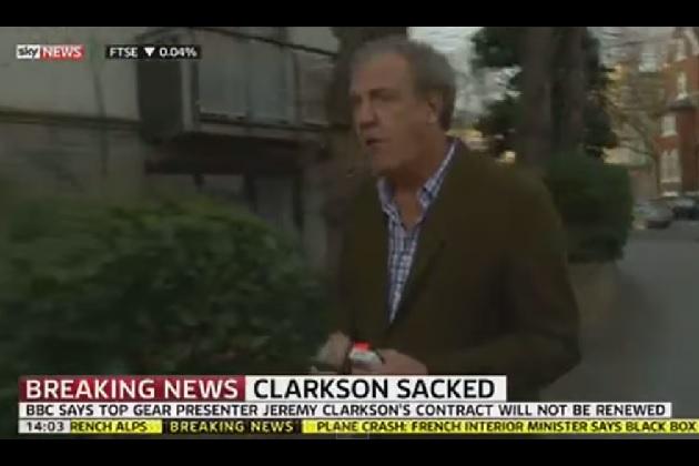 英『トップ・ギア』ジェレミー・クラークソンがついに解雇 BBCが騒動の報告書を公開