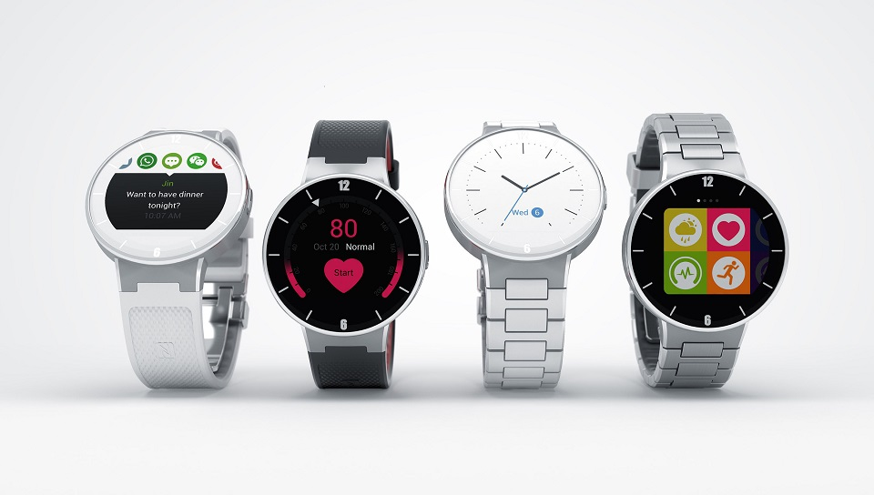 ALCATEL ONETOUCH WATCH (PRNewsFoto/ALCATEL ONETOUCH)