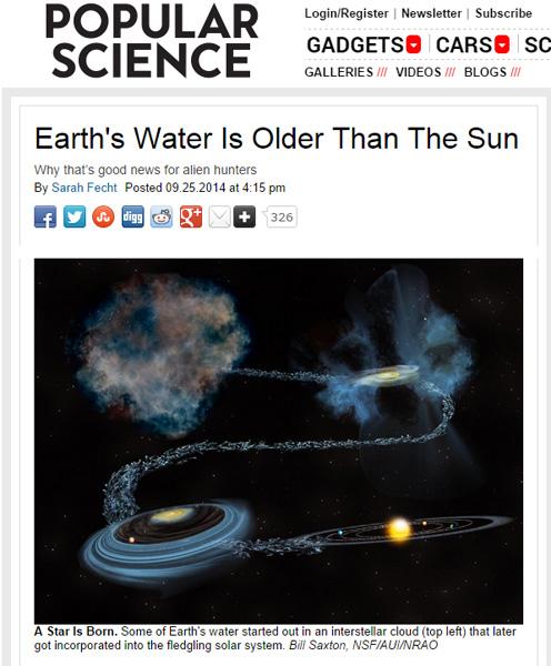 地球以外にも「水」が存在! 「謎の地球外生命体」の発見に大きな手掛かりか?