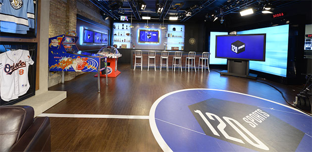 120 Sports streams its live news and analysis on Apple TV