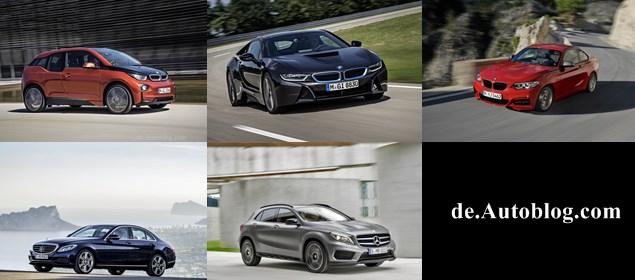 Design Trophy, design trophy 2014, mercedes-benz, bmw, c-klasse, das schönste auto deutschlands, der schönste wagen deutschlands
