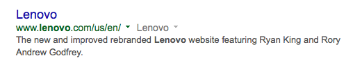 Lenovo's website hacked, apparently by Lizard Squad