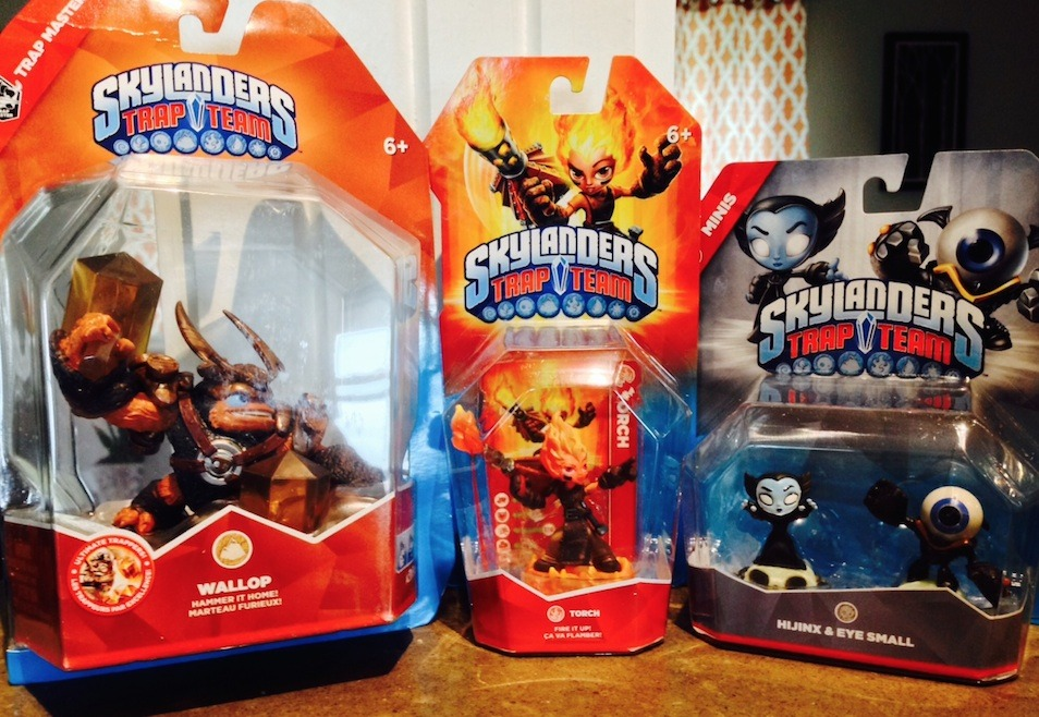 Collect all of these awesome new Skylanders Trap Team figures