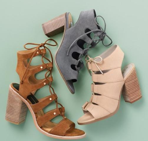 Steve Madden 'Nilunda' Lace-Up Sandal