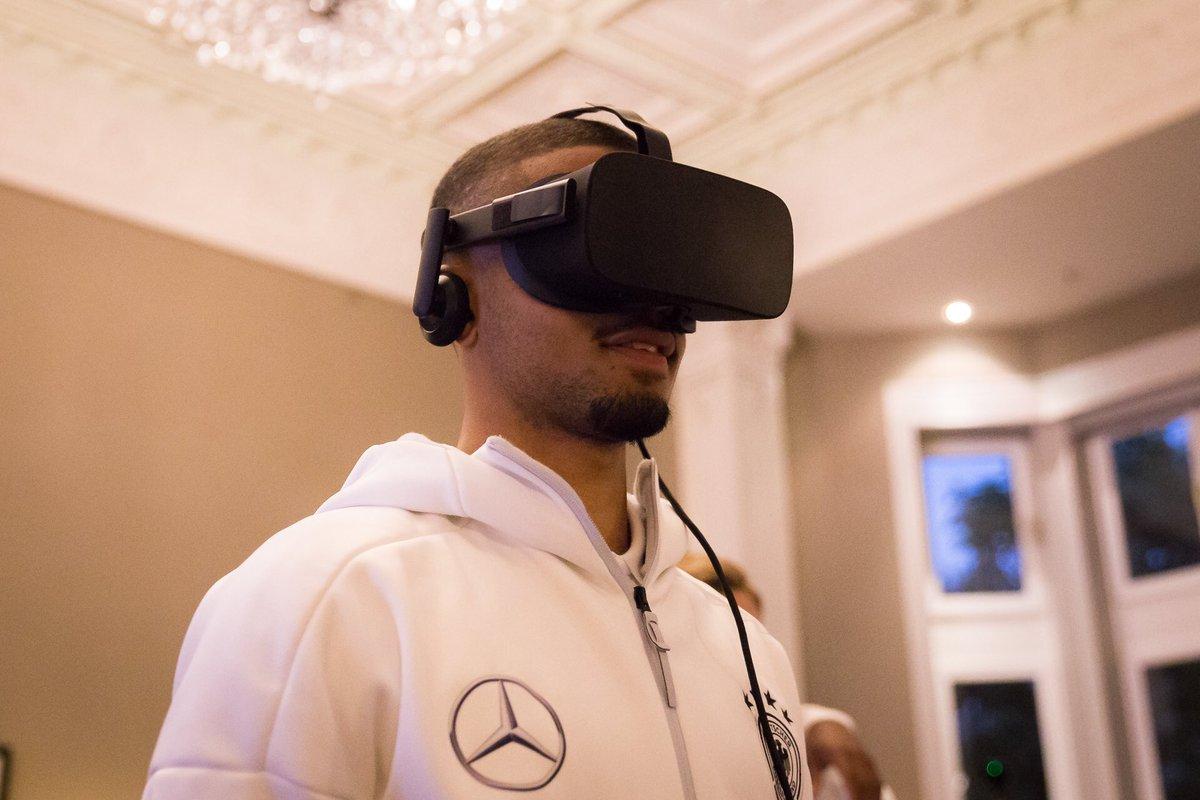 DFB kooperiert mit STRIVR für VR im Fussball-Training