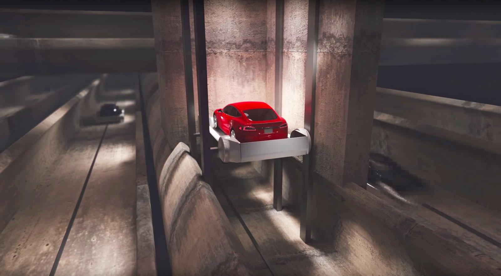 Viajar en el túnel de Elon Musk será como hacerlo en el Halcón Milenario