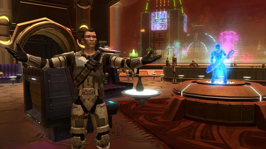 SWTOR Galactic Strongholds apartment