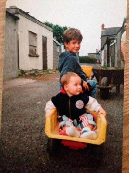 Greg Horan shares Niall baby pics