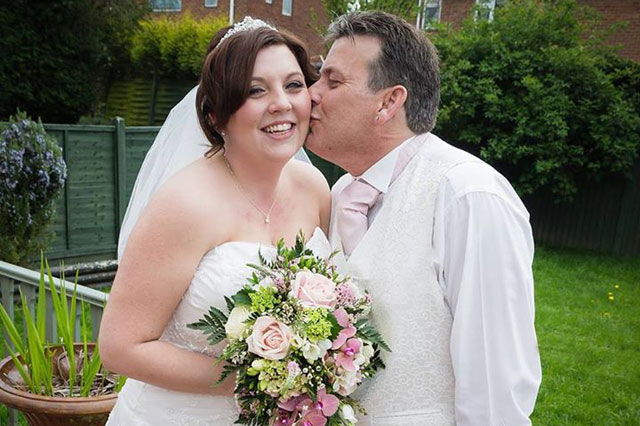 Bride's mum died on her wedding day