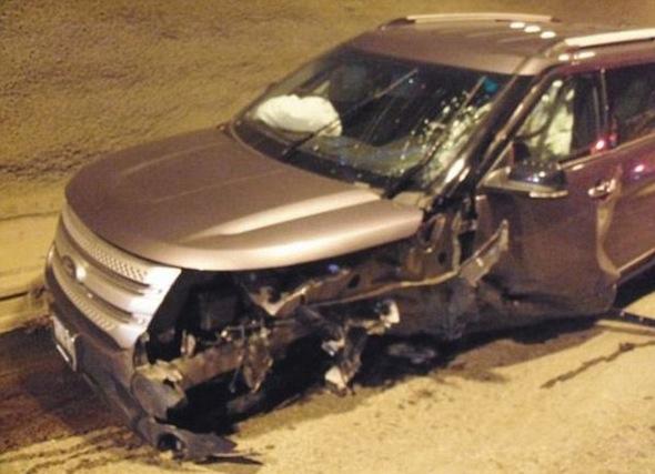 Ford SUV crash