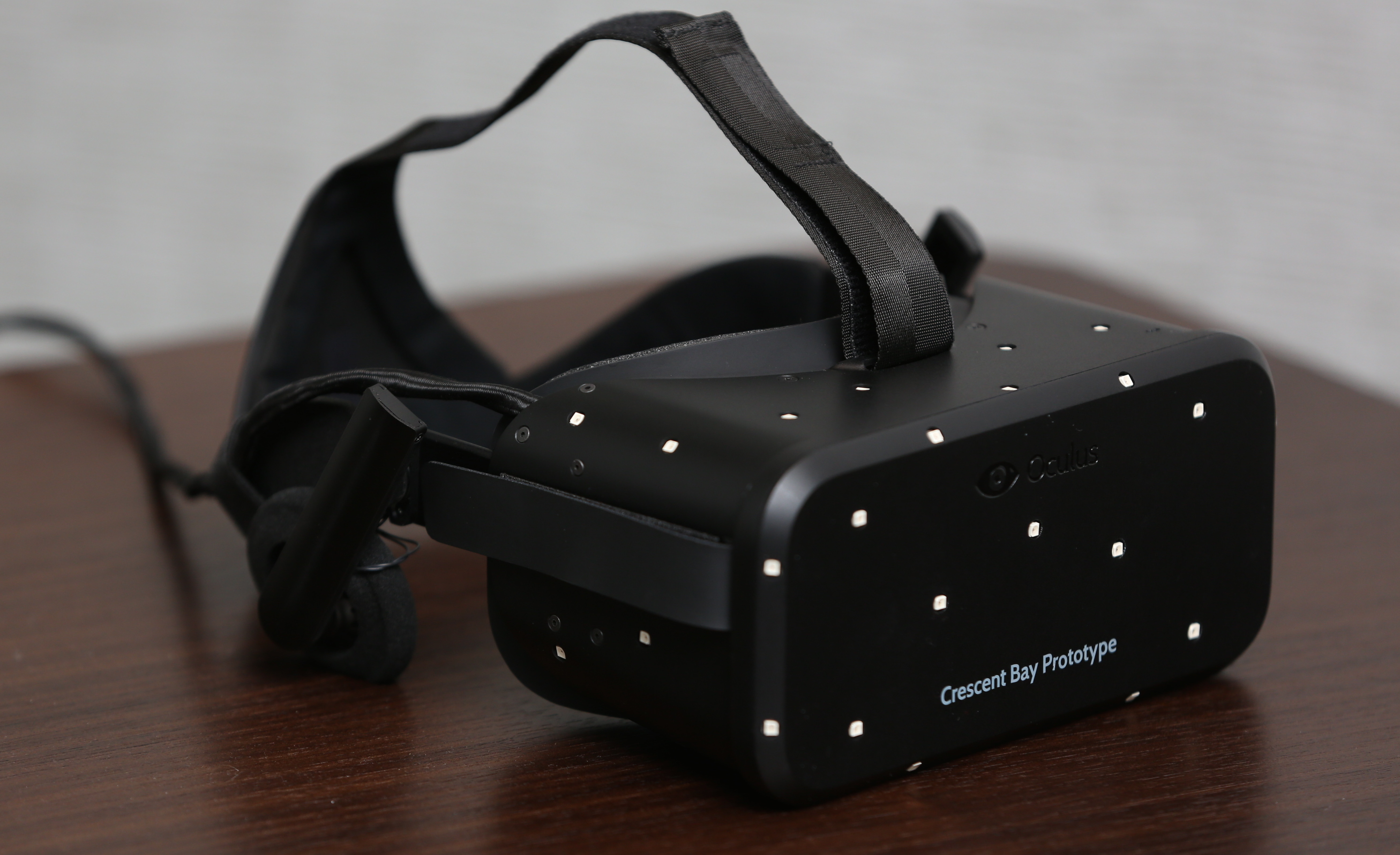 Creator of the Oculus Rift talks