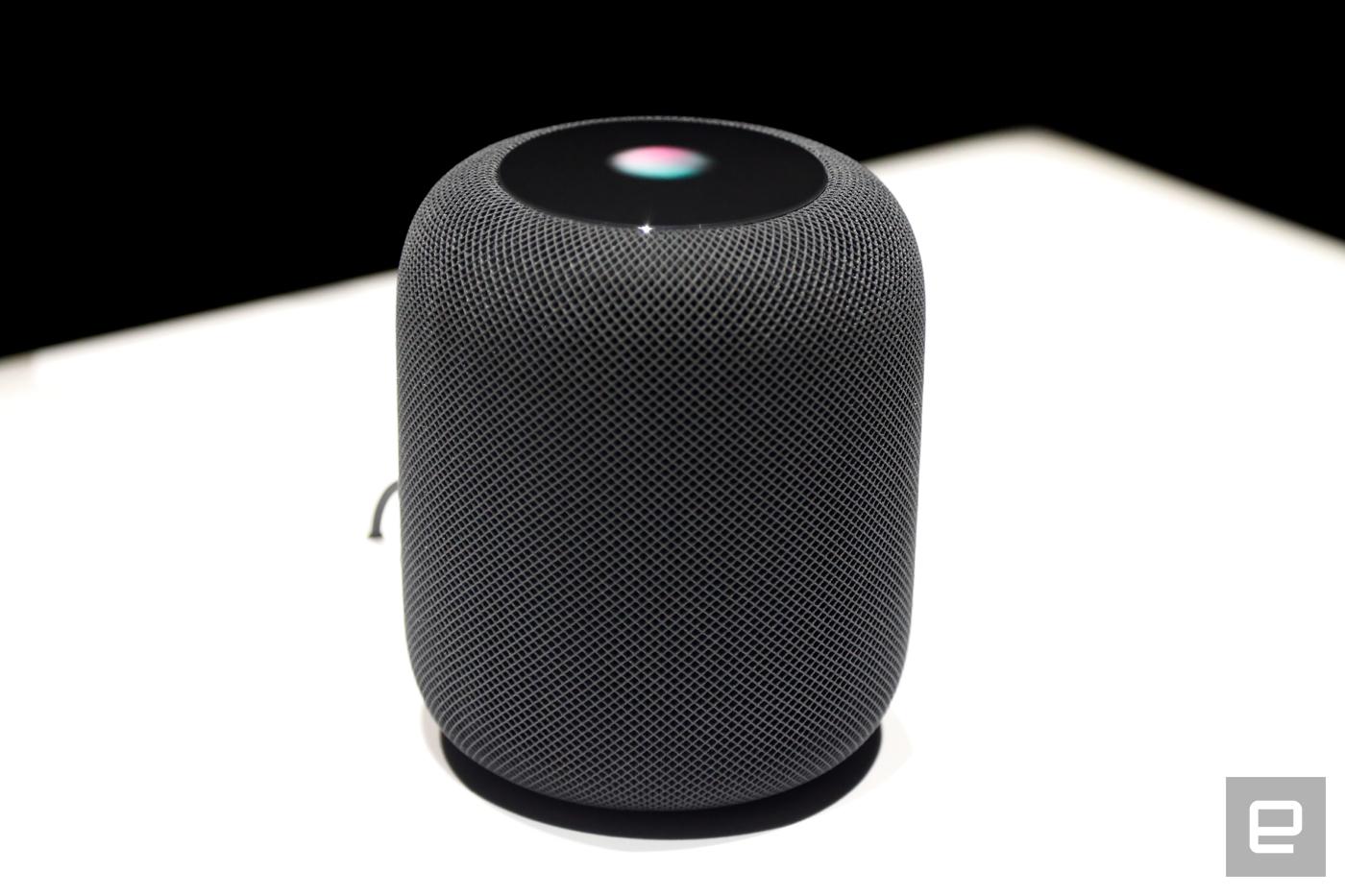 Así es (y así suena) el Apple HomePod de cerca