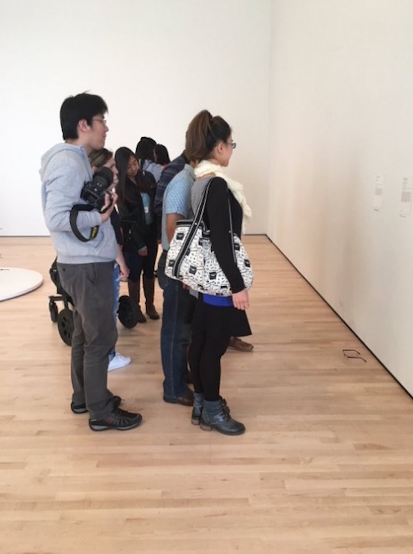 Pranksters Put A Pair Of Glasses On The Floor At A San Francisco Museum And People Mistook It For Art