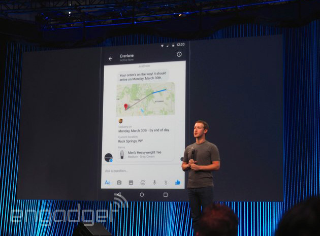 Facebook Messenger will soon let you chat with stores