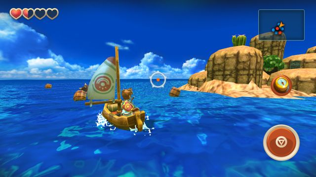 Oceanhorn screenshot