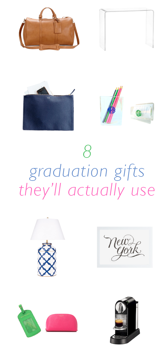 8 graduation gifts they'll actually use