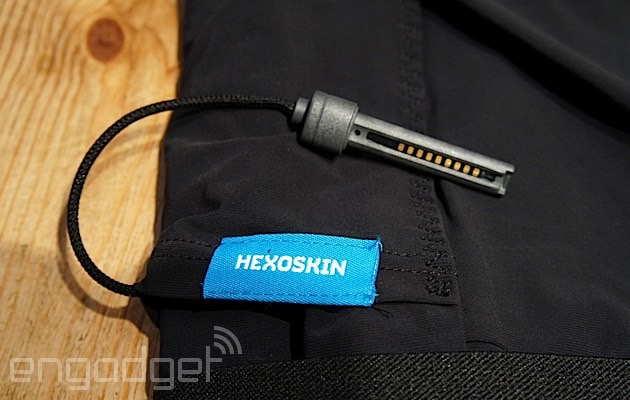 Hexoskin's smart shirt feels nice, but can't tell a step from a curl